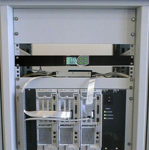 Rack mount environment monitor